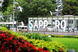 Taman Odori, Sapporo.