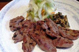 Grilled beef at Morinoya
