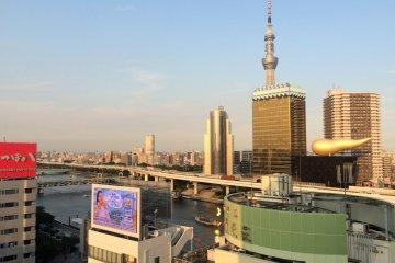 Iconic Architecture in Asakusa
