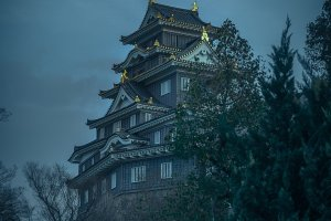 Exploring Okayama Castle