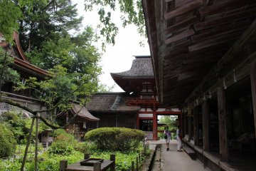 <p>Looking back toward the Sakuramon Gate</p>