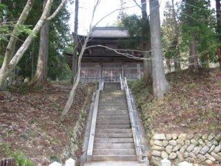 Nơi ra đời của loại tủ xoay sutra lâu đời ở Nhật Bản