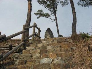 Chỉ vài bậc thang là lên đến đỉnh