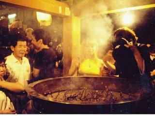 The incense cauldron