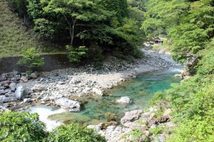 Lots of beautiful, swimmable rivers and riverside hamlets dot Kawakami-mura