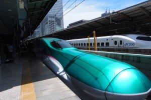 JR East's Hayabusa bullet train