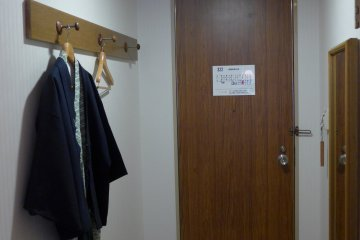 <p>They provide comfortable Japanese-style robes for you to lounge around in.</p>