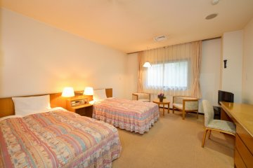 <p>The rooms are very spacious and comfortable.&nbsp;</p>