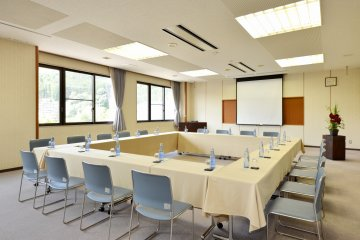 <p>There are also meeting rooms available for use.&nbsp;</p>