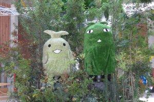 Meet the mascots of Moricoro Park.