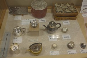 You can also see some good examples of handcrafted silverware.