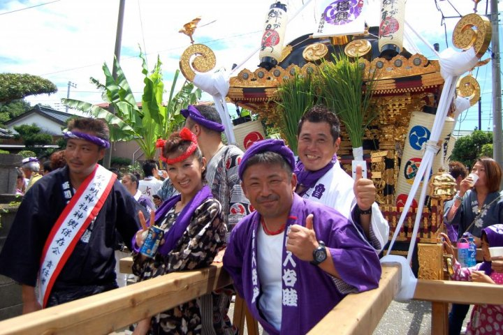 Zama Suzuka Shinto Shrine Festival
