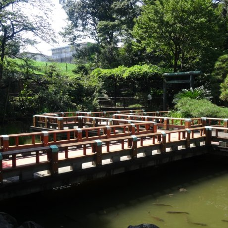 Taman Tersembunyi di Harajuku