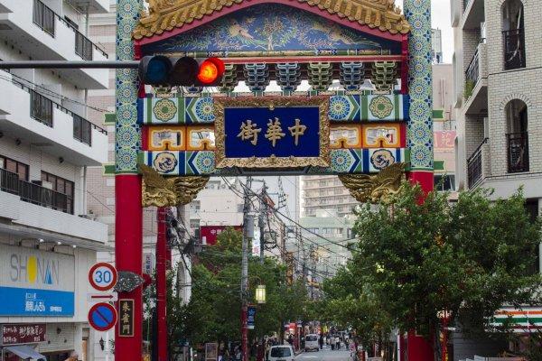 مدخل المدينة الصينية