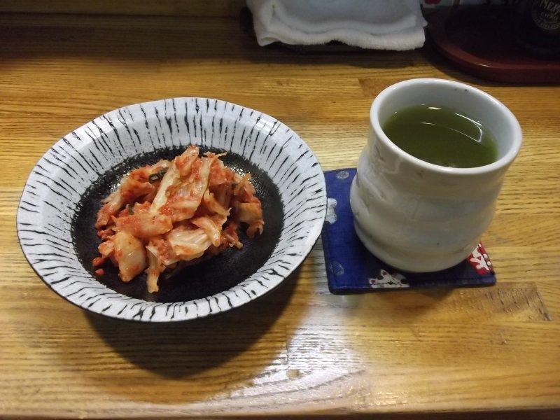 กิมจิกับน้ำชา