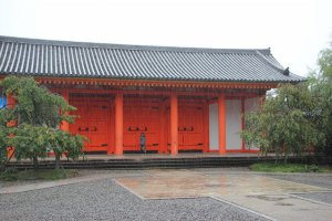 A hall built in honor of the 1200 anniversary of the first temple's opening on Mount Hiei