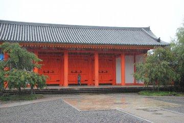 <p>Холл в честь 1200 годовщины открытия первого храма на горе Хиэй</p>