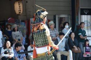 Un jeune samouraï
