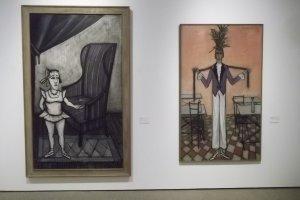 'La Danseuse au fauteuil' and 'Travesti au boa'