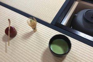 The way of tea in Tea Ceremony Koto