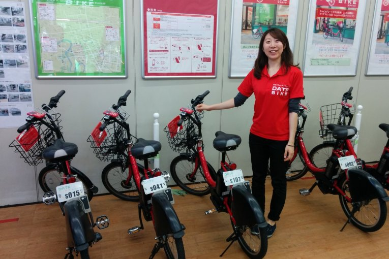 Date Bike Rental Service in Sendai