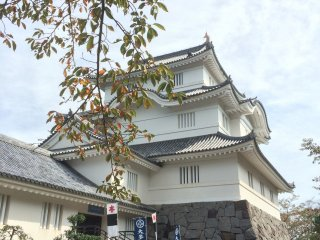 Osaka Castle is located in Otaki town, a small but historic town in Chiba.