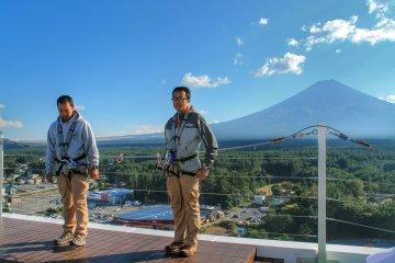 <p>Fujiyama Sky Balcony with an amazing view of Mount Fuji</p>