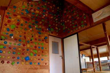 <p>For those who just like to play it safe or want to practice their climbing skills</p>