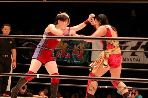 Get ready to rumble with the Sendai Girls