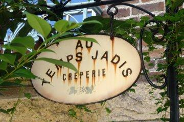 Crepes at Au Temps Jadis