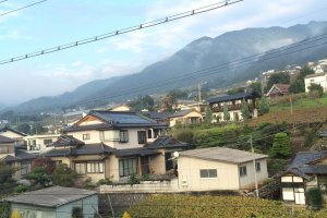 Katsunuma from the train station.