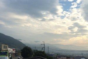 Mountainous area.