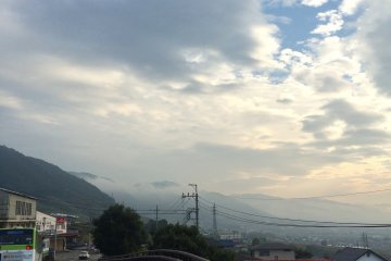 <p>Mountainous area.</p>