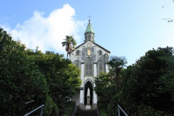 Oura Catholic Church, one of the oldest Catholic Churches in Nagasaki.