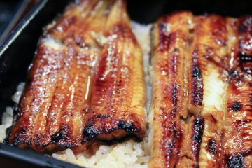 <p>Jo-unaju (grilled eel on rice)</p>