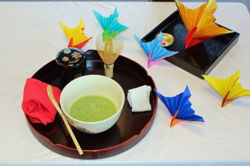 Free Tea Ceremony near Nara Park
