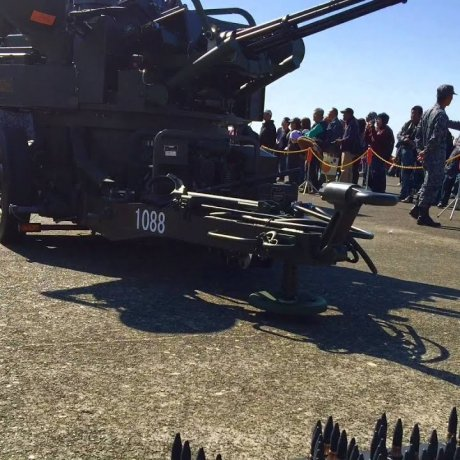 Hyakuri Self Defence Air Force Show