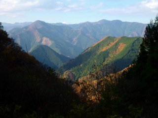 Hiking trails wind through Mt. Mitake and many of the surrounding mountains.