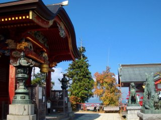 At the top end of the village is historic Mitake Shrine, which was built by a monk named Gyoki in the year 736.