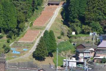 <p>The Oh-shin climbing kiln site, the world&#39;s largest at 170 m in length</p>