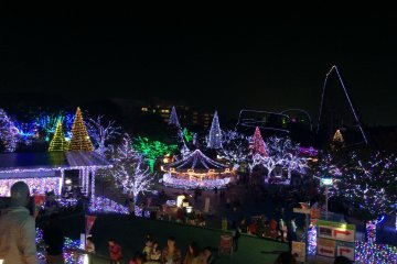Jewellumination at Yomiuri Land