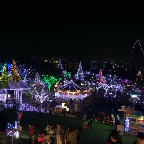 Jewellumination à Yomiuri Land