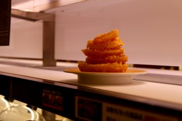 <p>These fried octopus rings will be heavy but oh so delicious</p>