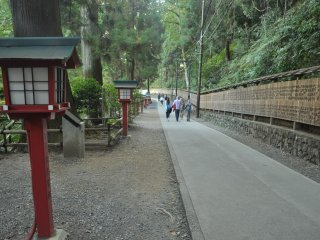 The path leading up to Yakuoin