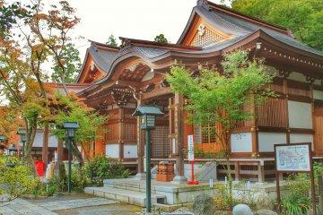 Temple Takahata Fudoson Kongo-ji