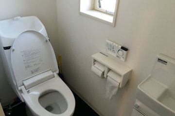 <p>A warm toilet seat during autumn and winter!</p>