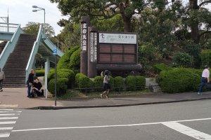 도쿄 국립 근대미술관이 속해 있는 기타노마루 공원.