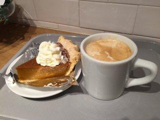 Мой кусочек пирога и кофе