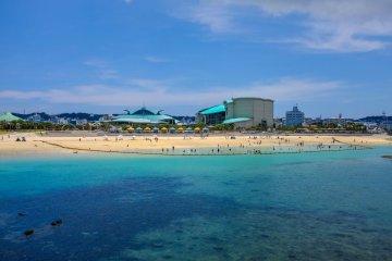 Ginowan Tropical Beach, Naha, Okinawa