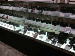 Museum ini merupakan bagian permanen yang menampilkan seluruh produk kamera Fujifilm dari masa ke masa.